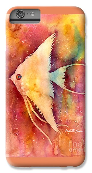 Angelfish II IPhone 6s Plus Case by Hailey E Herrera