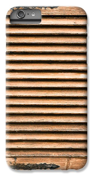 Antique Wooden Shutter IPhone 6s Plus Case by Tom Gowanlock
