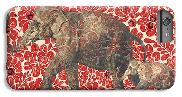 Asian Elephant-jp2185 IPhone 6s Plus Case by Jean Plout