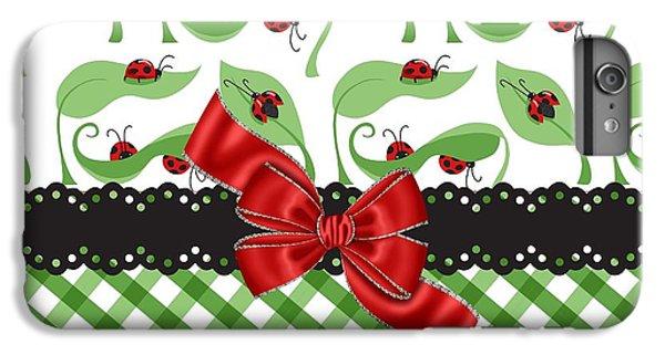 Asiatic Ladybugs  IPhone 6s Plus Case by Debra  Miller