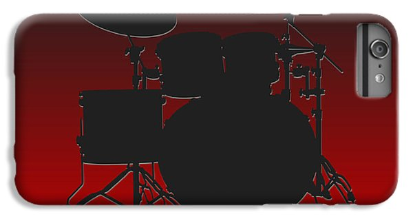 Atlanta Falcons Drum Set IPhone 6s Plus Case by Joe Hamilton
