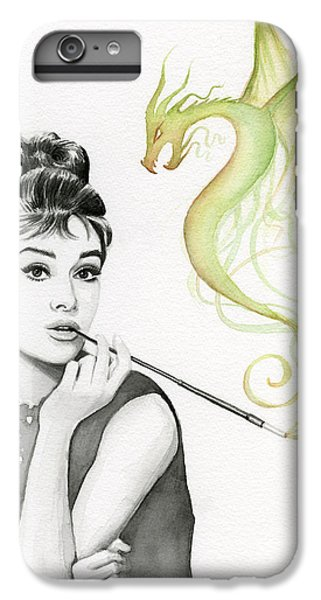 Audrey And Her Magic Dragon IPhone 6s Plus Case by Olga Shvartsur