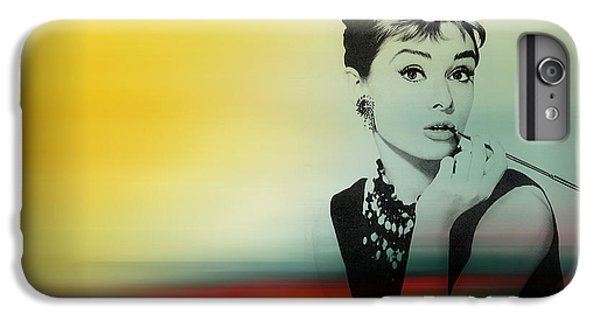 Audrey Hepburn Art IPhone 6s Plus Case by Marvin Blaine