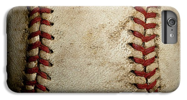 Baseball Seams IPhone 6s Plus Case by David Patterson