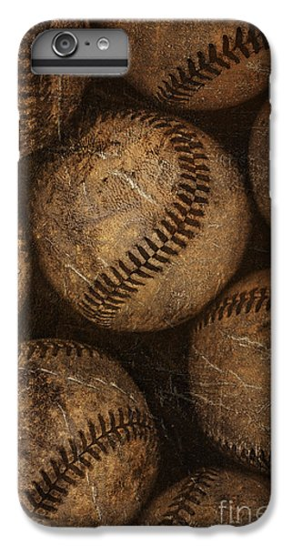 Baseballs IPhone 6s Plus Case by Diane Diederich