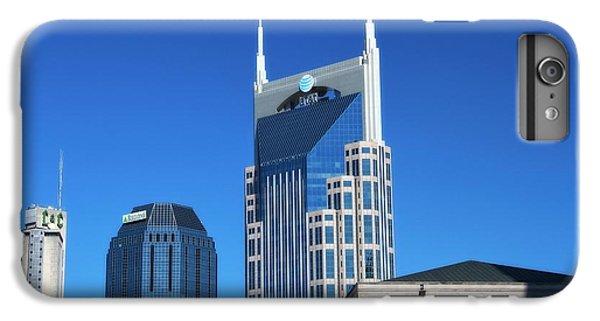 Batman Building And Nashville Skyline IPhone 6s Plus Case by Dan Sproul