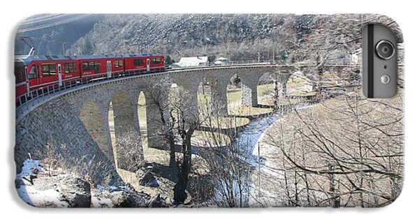 IPhone 6s Plus Case featuring the photograph Bernina Express In Winter by Travel Pics