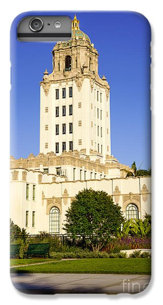 Beverly Hills Police Station IPhone 6s Plus Case by Paul Velgos