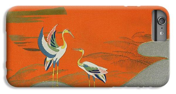 Birds At Sunset On The Lake IPhone 6s Plus Case by Kamisaka Sekka