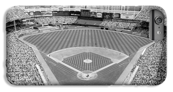 Black And White Yankee Stadium IPhone 6s Plus Case by Horsch Gallery