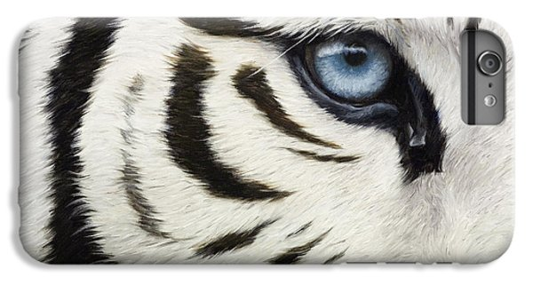 Blue Eye IPhone 6s Plus Case by Lucie Bilodeau