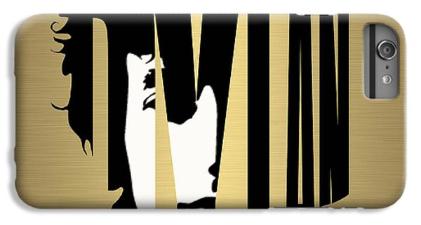 Bob Dylan Gold IPhone 6s Plus Case by Marvin Blaine
