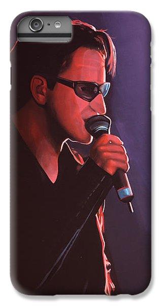 Bono U2 IPhone 6s Plus Case by Paul Meijering