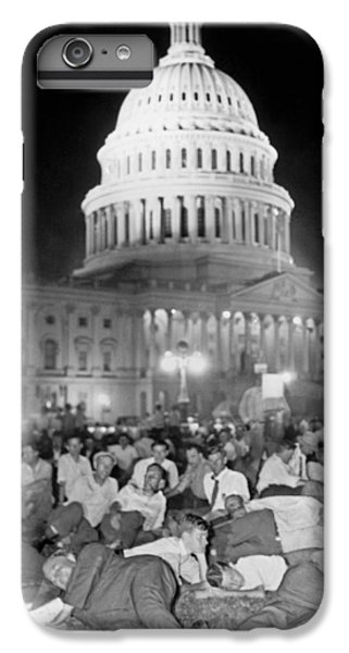Bonus Army Sleeps At Capitol IPhone 6s Plus Case by Underwood Archives