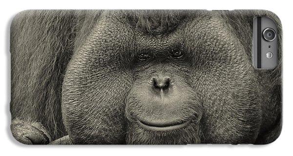 Bornean Orangutan II IPhone 6s Plus Case by Lourry Legarde