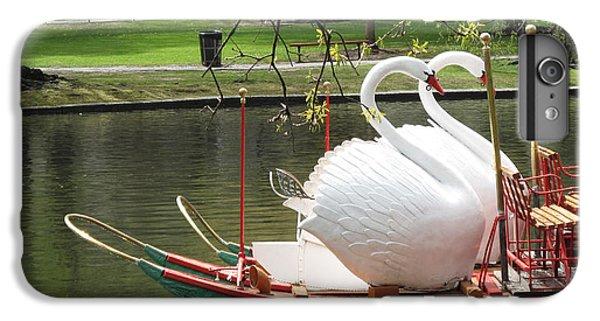 Boston Swan Boats IPhone 6s Plus Case by Barbara McDevitt