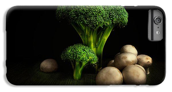Broccoli Crowns And Mushrooms IPhone 6s Plus Case by Tom Mc Nemar