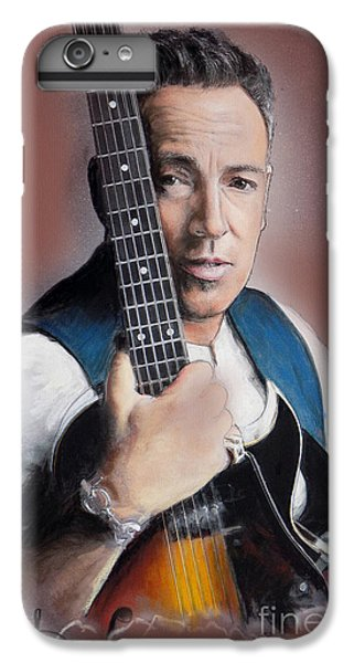 Bruce Springsteen IPhone 6s Plus Case by Melanie D