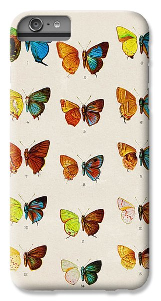Butterfly Plate IPhone 6s Plus Case by Pati Photography