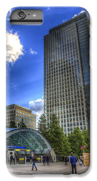 Canary Wharf Station London IPhone 6s Plus Case by David Pyatt