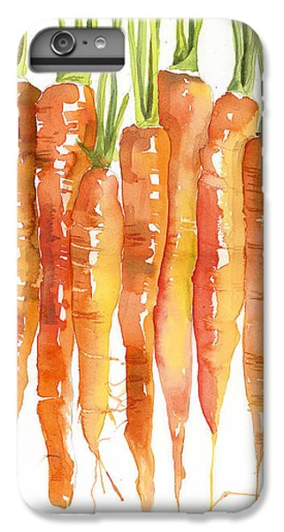 Carrot Bunch Art Blenda Studio IPhone 6s Plus Case by Blenda Studio