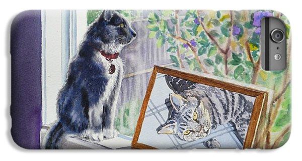 Cats And Mice Sweet Memories IPhone 6s Plus Case by Irina Sztukowski