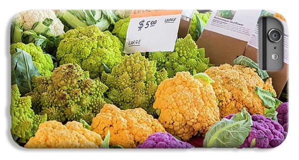 Cauliflower Market Stall IPhone 6s Plus Case by Jim West