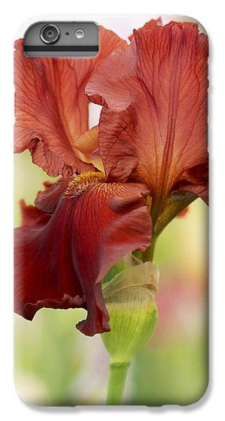 Chelsea Iris IPhone 6s Plus Case by Rona Black