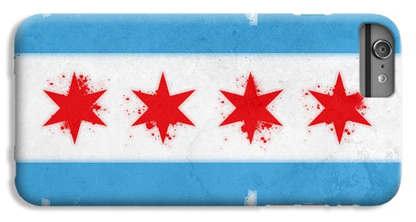 Chicago Flag IPhone 6s Plus Case by Mike Maher