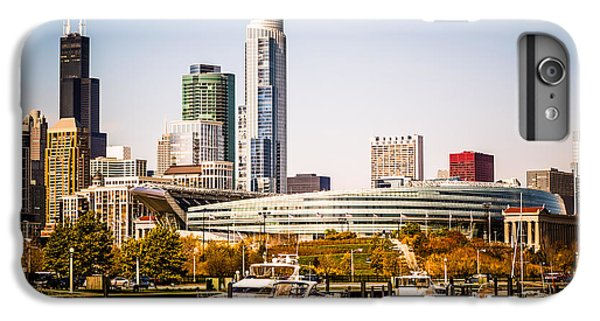 Chicago Skyline With Soldier Field IPhone 6s Plus Case by Paul Velgos