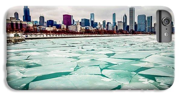 Chicago Winter Skyline IPhone 6s Plus Case by Paul Velgos