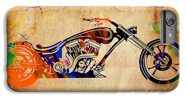 Chopper Motorcycle IPhone 6s Plus Case by Marvin Blaine