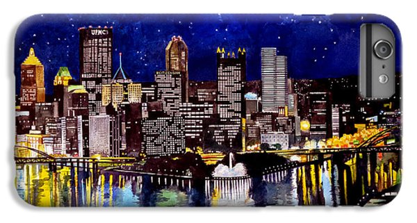 City Of Pittsburgh At The Point IPhone 6s Plus Case by Christopher Shellhammer