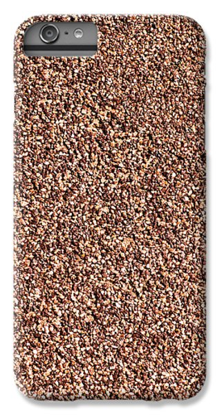 Coarse Grained Texture IPhone 6s Plus Case by Alexander Senin