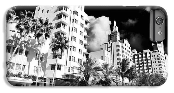 Collins Avenue IPhone 6s Plus Case by John Rizzuto