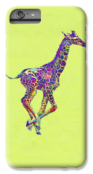 Colorful Baby Giraffe IPhone 6s Plus Case by Jane Schnetlage