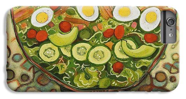 Cool Summer Salad IPhone 6s Plus Case by Jen Norton