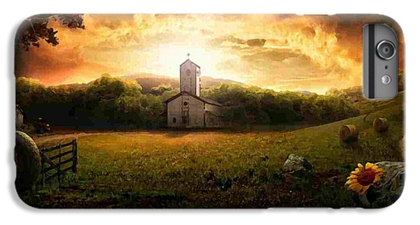 Country Side Painting IPhone 6s Plus Case by Marvin Blaine