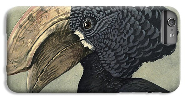 Crested Hornbill IPhone 6s Plus Case by Louis Agassiz Fuertes