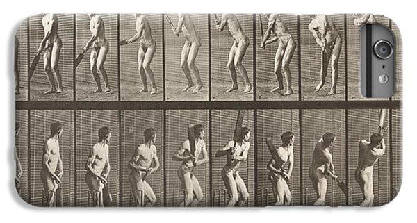 Cricketer IPhone 6s Plus Case by Eadweard Muybridge