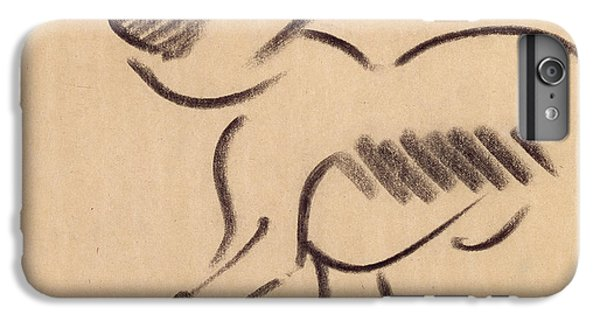 Crouching Monkey IPhone 6s Plus Case by Henri Gaudier-Brzeska