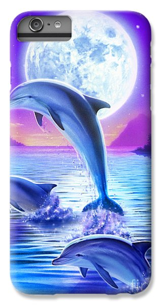 Day Of The Dolphin IPhone 6s Plus Case by Robin Koni