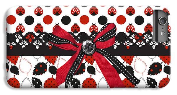 Dazzling Ladybugs  IPhone 6s Plus Case by Debra  Miller