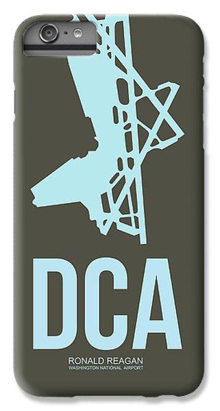 Dca Washington Airport Poster 1 IPhone 6s Plus Case by Naxart Studio