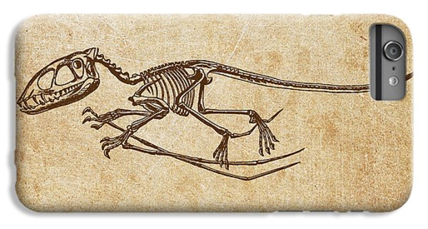 Dinosaur Pterodactylus IPhone 6s Plus Case by Aged Pixel
