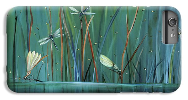 Dragonfly Diner IPhone 6s Plus Case by Carol Sweetwood