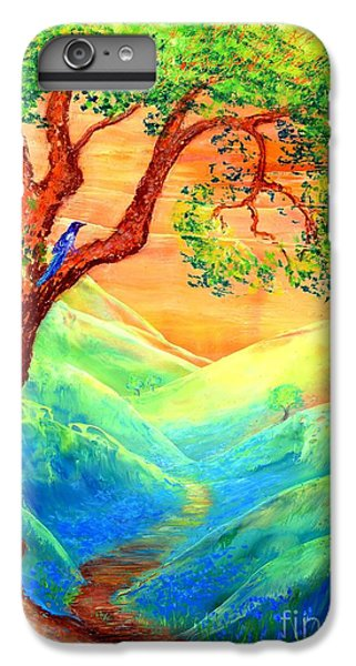 Dreaming Of Bluebells IPhone 6s Plus Case by Jane Small