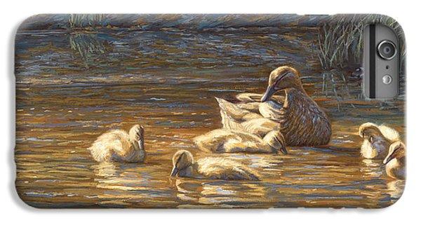 Ducks IPhone 6s Plus Case by Lucie Bilodeau