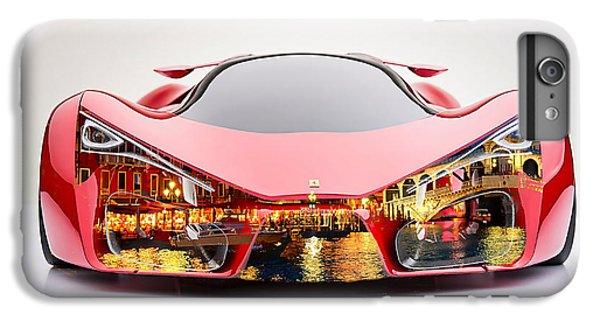 Ferrari F80 Venice Skyline IPhone 6s Plus Case by Marvin Blaine