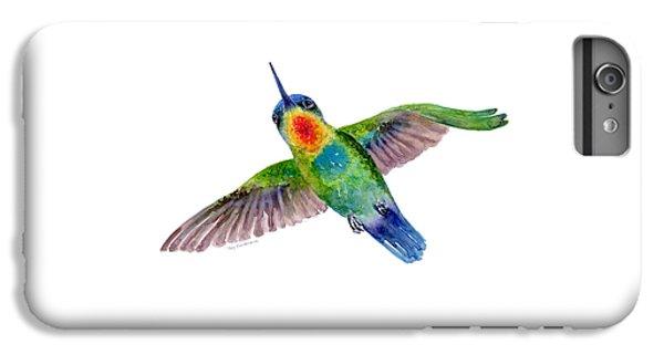 Fiery-throated Hummingbird IPhone 6s Plus Case by Amy Kirkpatrick